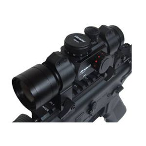 Ultradot 6 Tactical Red Dot Sight 4 Dot Sizes BDC 30mm Matte Black ULTRADOT6