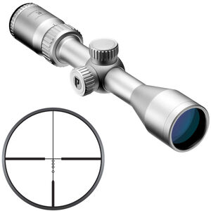 "Nikon Prostaff P3 3-9x40 Muzzleloader Scope BDC 300 Reticle 1"" Tube .25 MOA Fixed Parallax Silver"