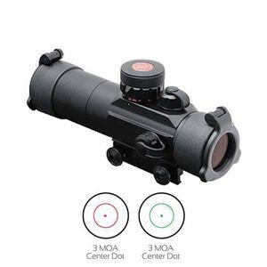 TRUGLO 30mm Tactical Dual Color Dot Sight 3 MOA Matte Black TG8030TB