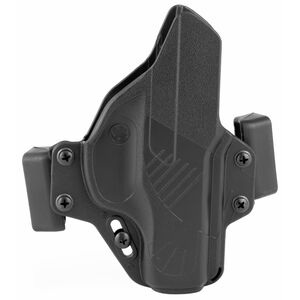 Raven Concealment Systems Perun OWB Holster For Ruger LC9/LC9S/EC9 Ambidextrous Draw Matte Black Finish