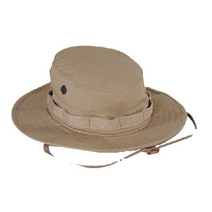 Voodoo Tactical Boonie Hat Cotton Ripstop Size 7.25 Khaki 20-645183073