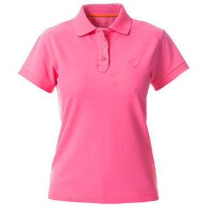 Beretta Special Purchase Women's Corporate Polo Short Sleeve Large Cotton Pink