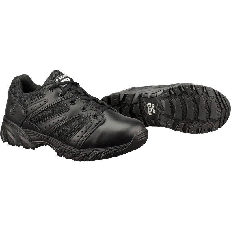 Original S.W.A.T. Chase Low Men's Shoe Size 11 Regular Non-Marking Sole Leather/Nylon Black 131001-11