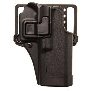 "BLACKHAWK! SERPA CQC Belt/Paddle Holster Taurus Judge 3"" Cylinder Right Hand Polymer Black 410544BK-R"