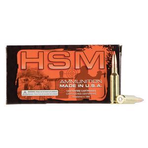 HSM Match .223 Rem Ammunition 50 Rounds 90 Grain Sierra MatchKing HPBT 2600 fps