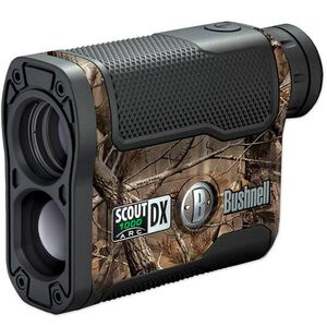 Bushnell Scout DX 1000 ARC Laser 6x21 Rangefinder, RealTree AP Camo