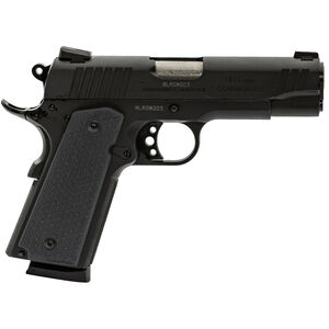 "Taurus 1911 Commander Single Action .45 ACP Semi Automatic Pistol 4.2"" Barrel 8 Rounds Novak Sights MagPul Gray Grips Matte Black Finish"