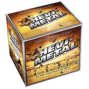 "Hevi-Shot Hevi-Metal Pheasant 12 Gauge Ammunition 2-3/4"" #4 Shot Lead Free 1-1/8 oz 1500 fps"