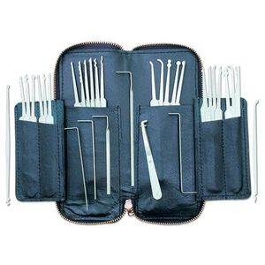 Pro-Lok 32 Piece Lock Pick Set Leather Case