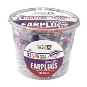 Howard Leight Super Light Ear Plugs Foam Multicolor 100 Pairs 3113
