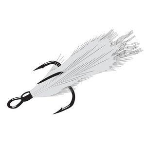 Gamakatsu Feathered Treble Hook Size 2 216409-WR