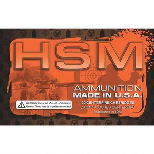 HSM 7mm Mauser Ammunition 20 Rounds SBT 160 Grain