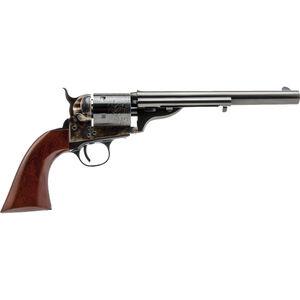 "Cimarron 1872 Open Top Navy Revolver .45 Colt 7.5"" Barrel 6 Rounds Case Hardened and Standard Blue Finsih Walnut Grip"