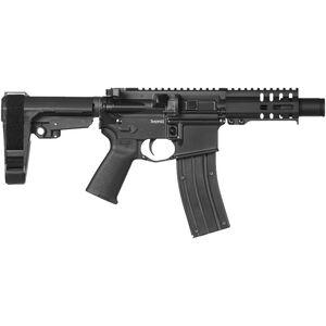 "CMMG Banshee 300 Mk4 .22 LR AR Style Semi Auto Rimfire Pistol 4.5"" Barrel 25 Rounds RML4 M-LOK Handguard CMMG Micro/CQB RipBrace Graphite Black Finish"