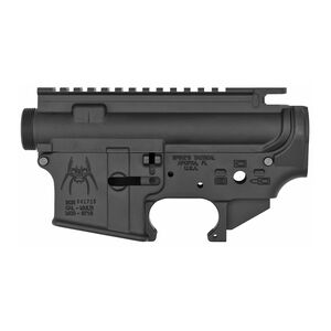 Spikes Tactical AR-15 Upper/Lower Receiver Set 7075-T6 Forged Anodized Finish Matte Black