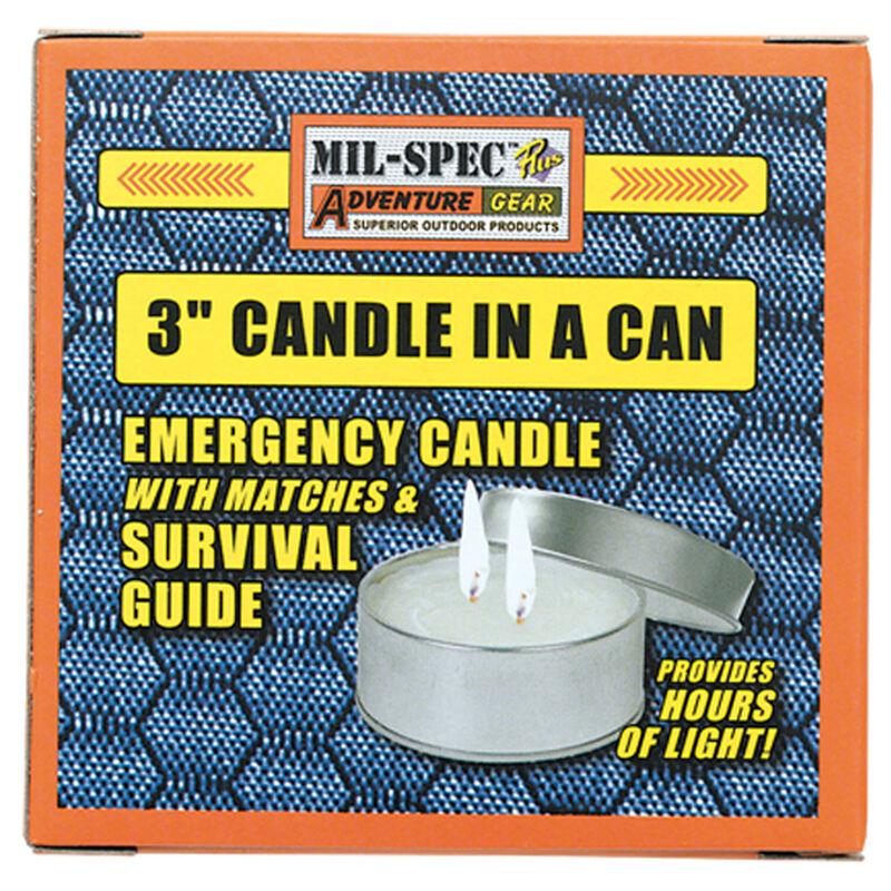 """Mil-Spec 3"""" Candle in a Can"""