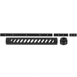 """ATI AR-15 Aluminum 6-Sided 15"""" Free Float Forend with Slotted Barrel Nut Utility Rail Package Black A.5.10.1177"""