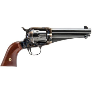 """Cimarron Firearms 1875 Outlaw .357 Mag/.38 Special Revolver 6 Rounds 5.5"""" Barrel Walnut Grips Color Case Hardened/Blued Finish"""