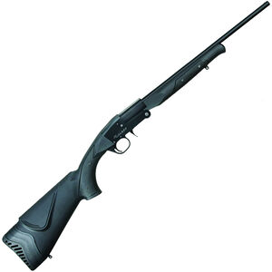 "Midland Backpack Single Shot Break Action Shotgun 20 Gauge 22"" Barrel 3"" Chamber 1 Round Foldable Design Synthetic Stock Black Finish"