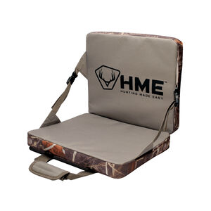 Hunting Made Easy Folding Seat Cushion Tan and Camo