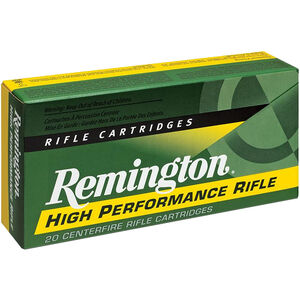 Remington .22 Hornet Ammunition 50 Rounds PSP 45 Grains