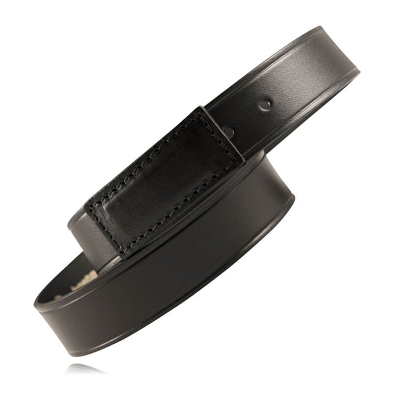 "Boston leather 1.5"" Movers Belt, Large, Plain Black, 1 1/2"" Scratchless"
