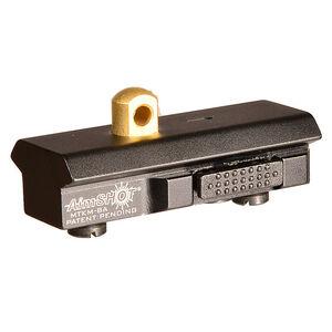 AimShot KeyMod Quick Release Bipod Adapter Aluminum Matte Black