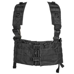 NcSTAR AR-15 Chest Rig Holds 12 Magazines Hydration Compatible Nylon Black