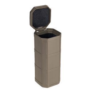 """Magpul DAKA Can 6.4""""x2.5""""x2.7"""" Pocket Sized Storage Container Lined with High Density Foam Rigid Shell Flat Dark Earth"""