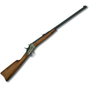 "Pedersoli Sporting Rolling Block Rifle .38-55 Win 28"" Barrel 1 Round Case Hardened Receiver Walnut Stock Blued S.812-385"