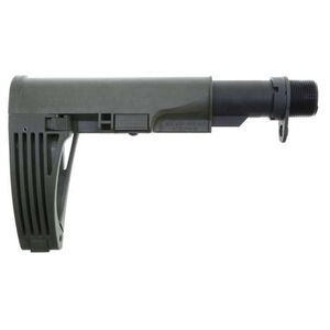 Gear Head Tailhook Mod 2 Pistol Stabilizing Brace Telescoping/Collapsible Design Polymer Olive Drab Green