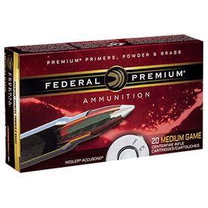 Federal Premium .338 Lapua Magnum Ammunition 20 Rounds 300 Grain Nosler Accubond