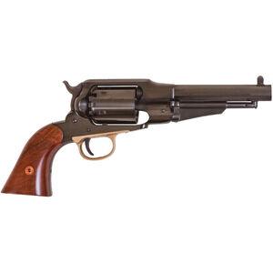 "Cimarron 1858 Remington Army .44 Caliber Black Powder Revolver 6 Rounds 5.5"" Barrel Fixed Sights Walnut Grips Blued"