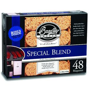 Bradley Smoker Bisquettes Special Blend 48 Pack BTSB48