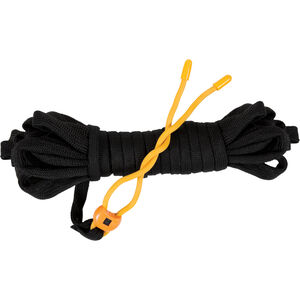 Muddy Outdoors EZ Twist Pull Up Rope 25' Flat Cord with Rubber Coated Twist Tie Black