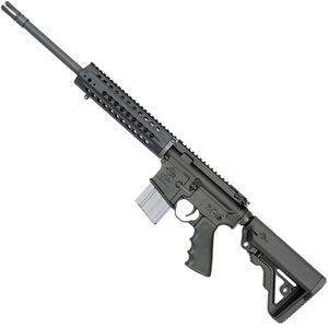 "Rock River LAR-15 Coyote Carbine 5.56 NATO AR15 Semi Auto Rifle 16"" HBAR Barrel 20 Rounds Free Float Handguard Collapsible Stock Black"