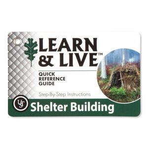 Ultimate Survival Technologies Learn & Live Shelter Building Card Set 20-80-1045