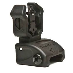 Diamondhead USA Polymer AR15 Rear Flip Up Sight Polymer Black 1401