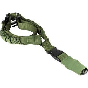AIM Sports Single Point Bungee Sling Nylon OD Green AOPS01G