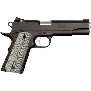 "Ed Brown Special Forces Gen-4 1911 Semi Auto Pistol .45 ACP 5"" Barrel 7 Rounds Black Laminate Grips Low Glare Black"