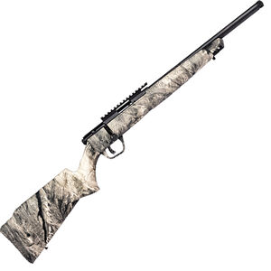 "Savage B22 FV-SR .22LR Bolt Action Rifle 16.5"" Heavy Barrel 10 Rounds Synthetic Stock Mossy Oak Overwatch Camo"
