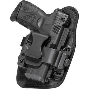 Alien Gear ShapeShift Appendix Carry S&W M&P Shield 9mm IWB Holster Right Handed Synthetic Backer with Polymer Shell Black