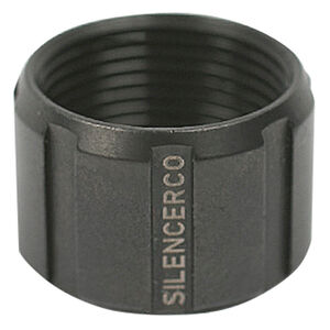 SilencerCo Threaded Barrel Thread Protector .578x28 Thread Pitch Stainless Steel Matte Black