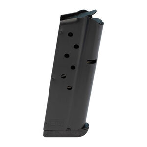 Ed Brown 1911 Officers 8 Round Magazine 9mm Luger Stainless Steel Nitride Black Finish