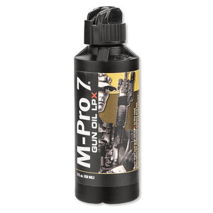 Hoppes M-Pro 7 LPX Gun Oil 2 Ounce Bottle 070-1452