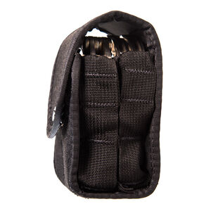 High Speed Gear Duty Double Handcuff TACO Covered Belt/MOLLE Mount Cordura Black
