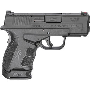 "Springfield Armory XD-S Mod.2 3.3"" Single Stack .45 ACP Semi Auto Pistol 6 Rounds Black"