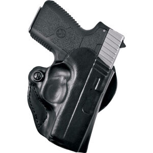 Desantis 019 Mini Scabbard Belt Holster S&W M&P Shield Left Hand Leather Black 019BBX7Z0
