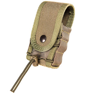 High Speed Gear Handcuff TACO Covered Belt Mount Olive Drab