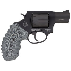 "Taurus 856 UL Ultra Lite .38 Special +P Single/Double Action Revolver 2"" Barrel 6 Rounds VZ Operator II Grips Matte Black Finish"
